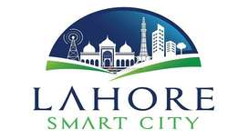 5 Marla Overseas Block plot file for sale in Lahore Smart City.