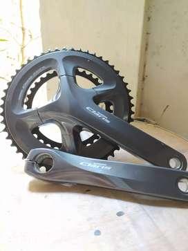 Crank set claris 50-34t include BB ht2