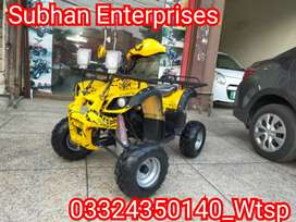 New Stock Auto _ Engine ATV Quad 4 Wheel Bikes Deliver In All Pakistan