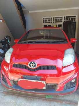Di jual mobil yaris trd sportivo  automatic thn 2012