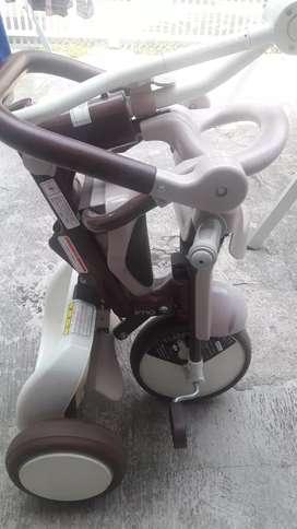 sepeda bayi tanpa tutup untuk kepala