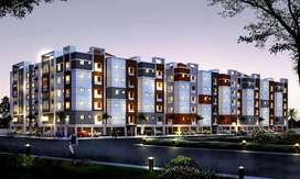 Gated Community Project SBI aprroved 1BK @11L flat for sale Gannavaram