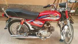Bike pk70 in a good condition model 2016