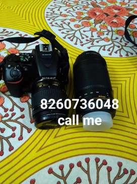 NikonD camera 2 lens