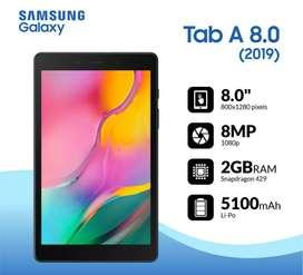 Samsung Galaxy Tab A8 2019 T295 garansi resmi sein free tempered glass