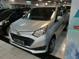 Daihatsu Sigra 1.0 M 2019 KM 7rb Mt Manual AC Dobel Blower Silver