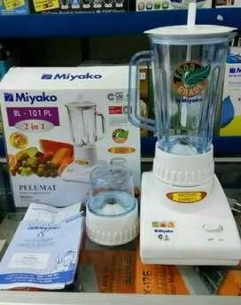 toko permata blender miyako 101 PL.. Gelas plastik.. 2 in 1