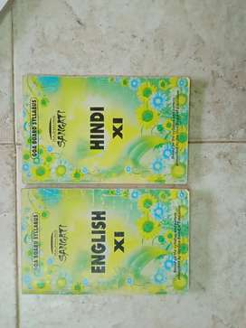 Std 11th english and hindi digest