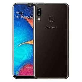 Samsung A20 3Gb ram 64 GB with 15 GB SD Card free