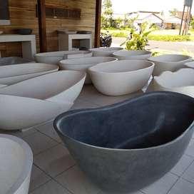 Bathtub Jinga Mewah Elegant Terrazzo