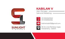 REQUIRED SALES EXECUTIVE FOR SUNLIGHT FIBRENET