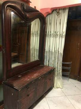 Wooden large dressing table !