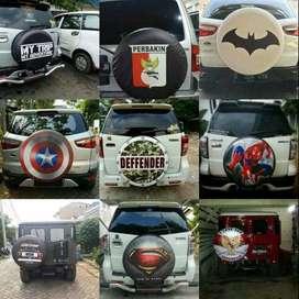 Cover/Sarung Ban Serep Toyota Rush/Terios/Panther No. 54 Terios Tourin