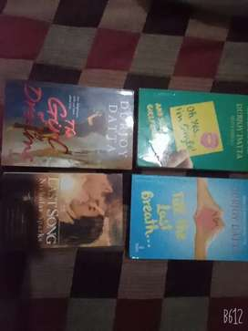 4 romantic novels worth more than Rs.950/- new in condition