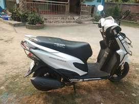 Want to sale honda grazia 125cc. 5500km driven