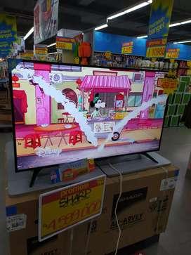 LED TV SHARP 50 INCH DI KREDIT TANPA JAMINAN TANPA SURVEY