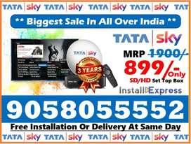 Tata Sky IPL Sale Sale Sale Free Install & 1 month free Airtel tv Dth
