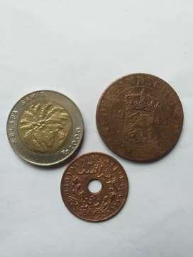 Uang kuno & uang 1000 kelapa sawit thn 1994