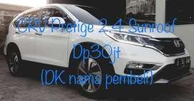 Dp 12jt CRV Prestige 2.4 Sunroof 2015 TT Fortuner/Pajero/Hrv 2014/2016