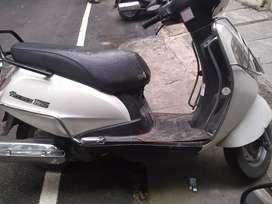 Suzuki Access 2011 Model White Colour First Owner