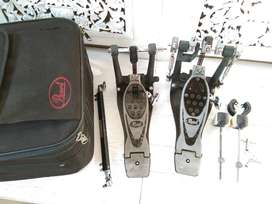 Double pedal pearl eliminator