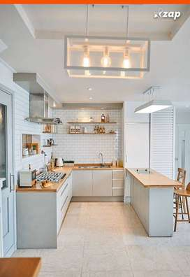 Jasa pembuatan interior kitchen seat rumah apartmen