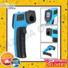 Thermo Gun Thermometer Infrared Digital Termometer Tembak Suhu Ready !