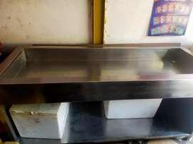 Stainless steel display sets