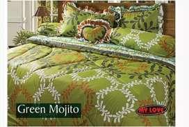 Sprei bed cover set my love (sprei rumbai) uk. 180 x 200