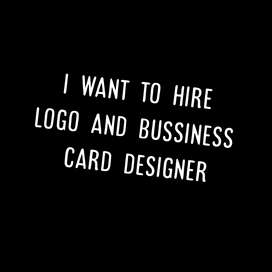 I want to hire logo and bussiness card designer and video editor