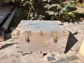 Old wooden box Sandook