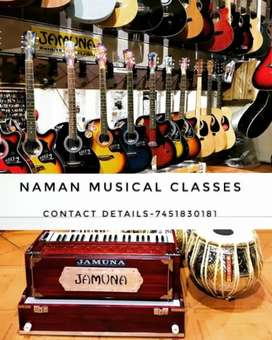 Harmonium,Guitar tution available here! Home tution also available