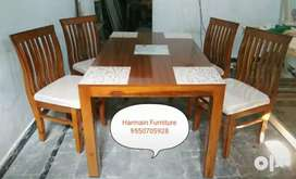 UNBELIEVABLE PRICE BRAND NEW TEAK WOOD DINING SET