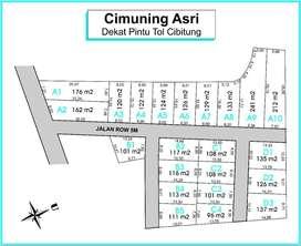 Kapling Cimuning Bekasi: 2 Menit McDonald Dukuh Zamrud