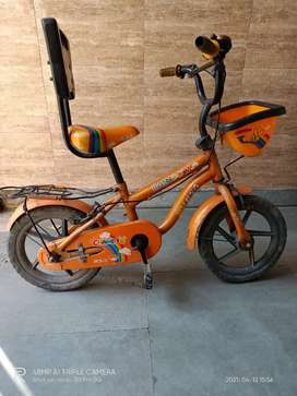 Kids cycle new condition less used