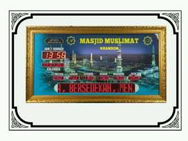 Jual Jam Digital Masjid: Type Advanced (Aceh Barat Kab.)