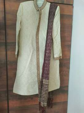 Long kurta pyjama with dupattah (size 40)