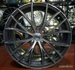 Velg racing mobil Calya ring 16 tipe Naples warna grey polish