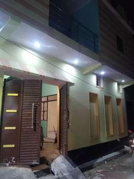 3Bhk corner House Pkkabag near Ring road budheshwar Lucknow