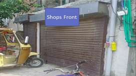 Commercial Flate + 02 Shops.