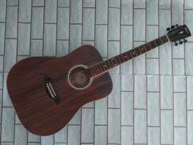 Akustik string gitar cort jumbo doble side