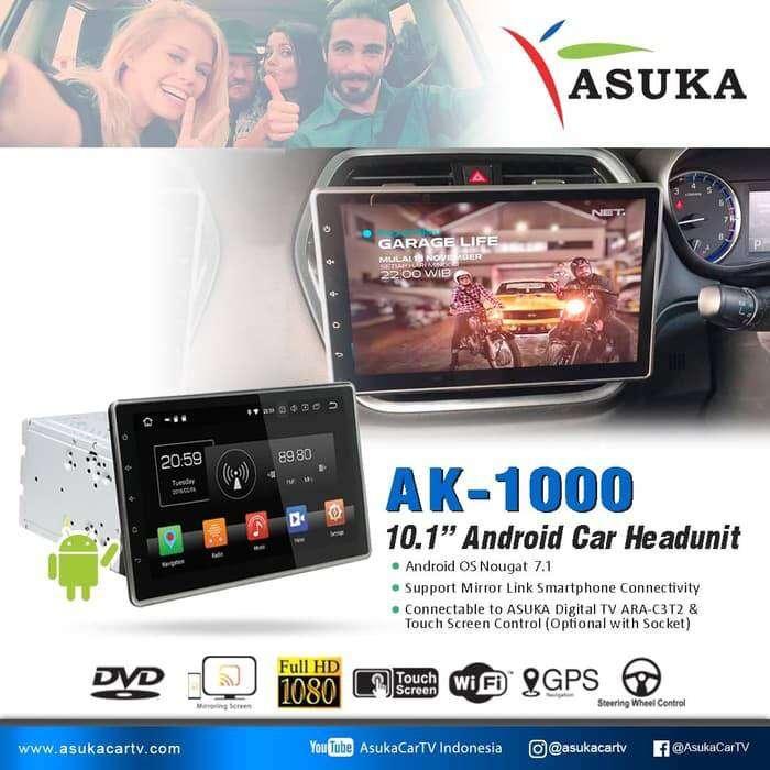 Best seller android doubledin asuka ak 1000 dengan layar 10.1 inch 0