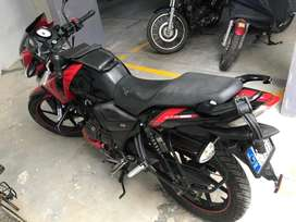 Nicely maintained bike Apache RTR 160 RED clour