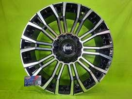 Velg HSR Myth02 R20 lebar 9 cocok pajero, fortuner, ( bisa dicicil )
