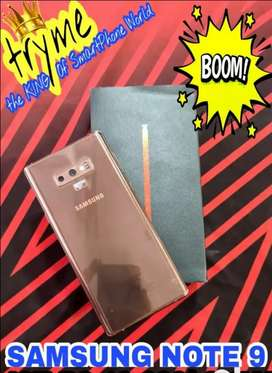 "TRYME 6GB RAM/ SAMSUNG NOTE 9 Gold Edition Fresh Condition""s"