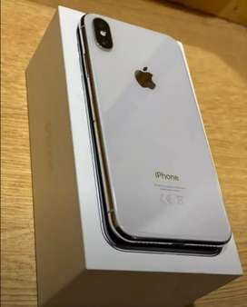 Iphone x white color 256 gb storage black and white both available