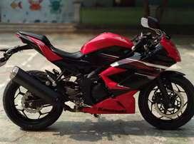 Jual Ninja 250 RED Mono ABS (Type paling tinggi)warna Favorite NEGOBOS