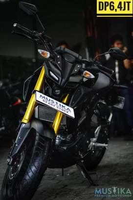 Yamaha MT15 2019, Odo 7rb-Black Edition, Mustika Motoshop