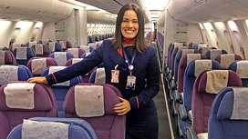 Flight Attendant hiring for Pune Airport.