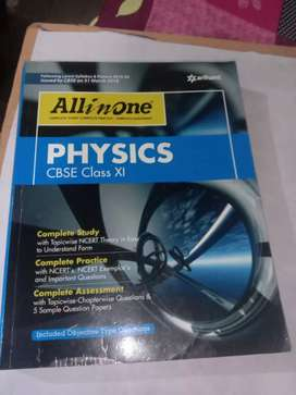 New  PHYSICS Arihant Publication ALL In One book For class 11